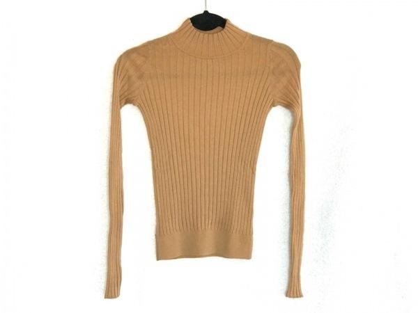 フォルテフォルテ 長袖セーター サイズ0 XS レディース美品  ライトブラウン