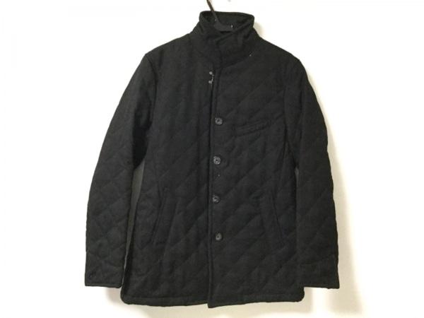 NICOLE CLUB(ニコルクラブ) ブルゾン サイズ46 XL メンズ美品  黒 冬物/キルティング