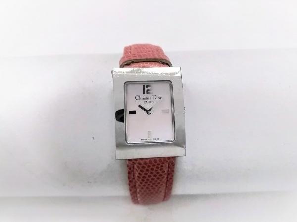 ディオール 腕時計 マリススクエア D78-109 レディース 社外ベルト/シェル文字盤