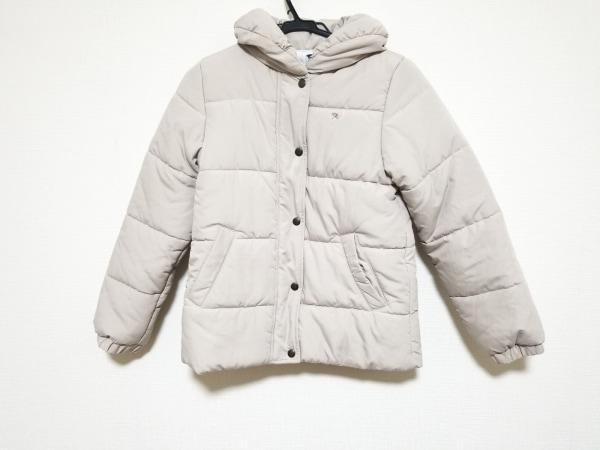 アーノルドパーマー ブルゾン サイズ2 M レディース アイボリー 中綿/冬物