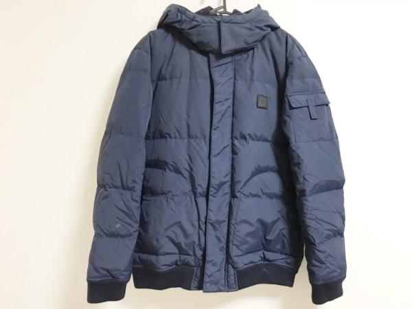Lacoste(ラコステ) ダウンジャケット サイズ50 XL メンズ美品  ダークネイビー