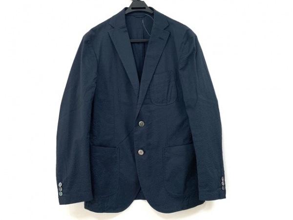 23区 HOMME(ニジュウサンク オム) ジャケット サイズ46 XL メンズ ネイビー