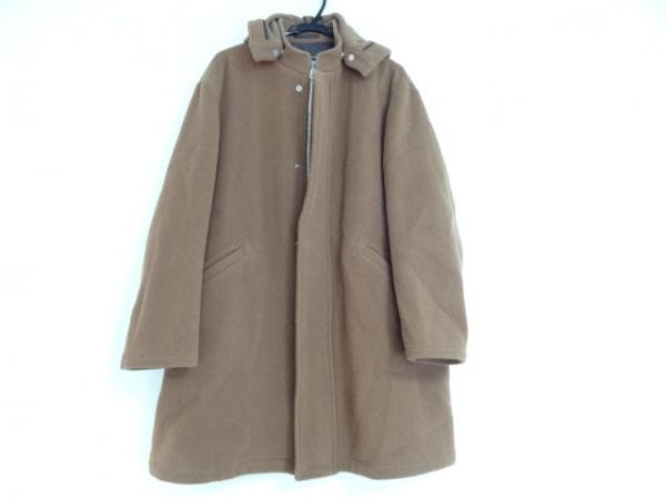 ThomasBurberry(トーマスバーバリー) コート サイズL メンズ ブラウン 冬物