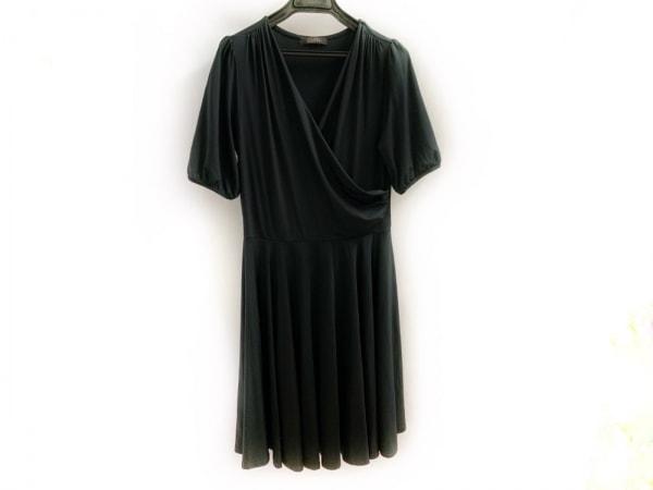 Tiaclasse(ティアクラッセ) ワンピース サイズL レディース美品  黒