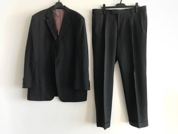 HUGOBOSS(ヒューゴボス) シングルスーツ サイズ54 L メンズ ダークグレー