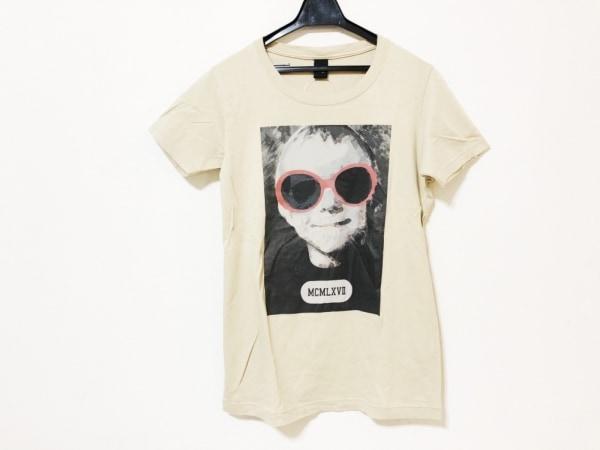 Pledge(プレッジ) 半袖Tシャツ サイズ48 XL メンズ ダークグリーン×レッド×マルチ