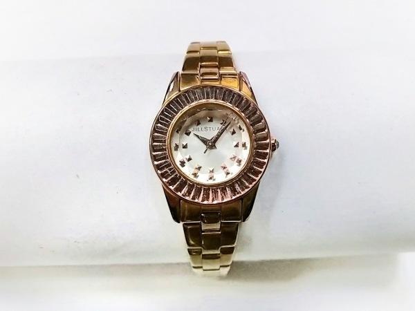 ジルスチュアート 腕時計 VC01-0100 レディース ラインストーン シルバー