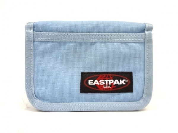 EASTPAK(イーストパック) 2つ折り財布 ライトブルー キャンバス