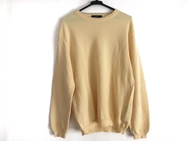 ErmenegildoZegna(ゼニア) 長袖セーター サイズM メンズ美品  イエロー