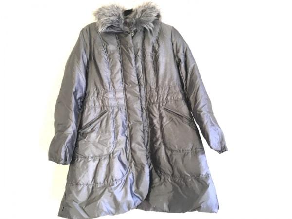 OTTO(オットー) ダウンコート サイズL レディース グレー 冬物/ファー