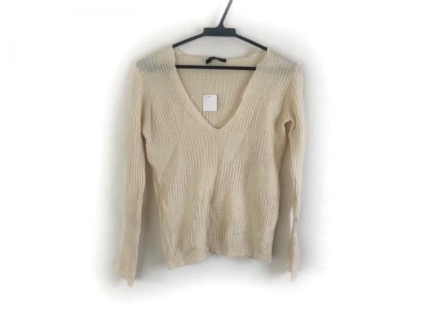 クリッツィアマグリア 長袖セーター サイズ44 L レディース美品  アイボリー