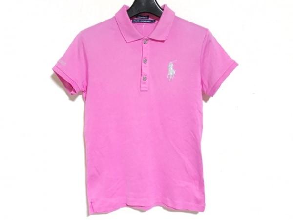 RalphLaurenGOLF(ラルフローレンゴルフ) 半袖ポロシャツ サイズS レディース ピンク