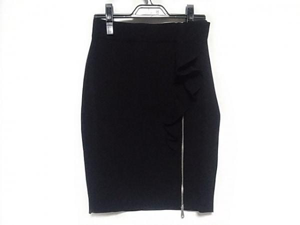 REBECCA MINKOFF(レベッカミンコフ) スカート サイズS レディース美品  黒 フリル