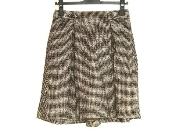 トゥモローランド スカート サイズ36 S レディース 黒×ベージュ collection