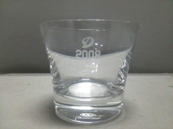 バカラ 食器新品同様  - クリア ×ドラゴンズ/グラス/2008 クリスタルガラス