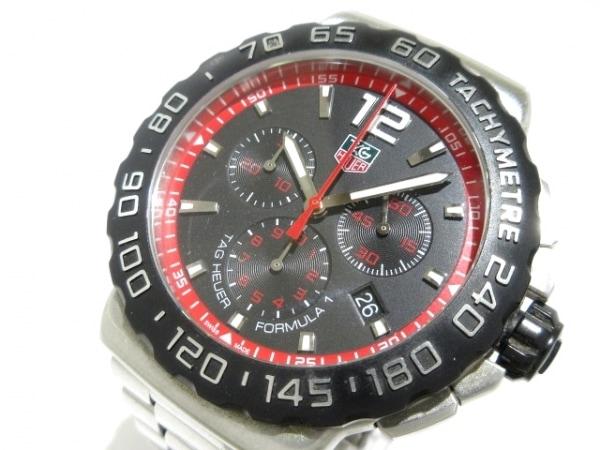 TAG Heuer(タグホイヤー) 腕時計 フォーミュラ1 CAU1116 メンズ クロノグラフ 黒