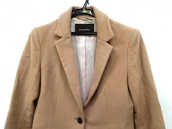 Chandelier(シャンデリエ) コート サイズ38 M レディース ライトブラウン 冬物