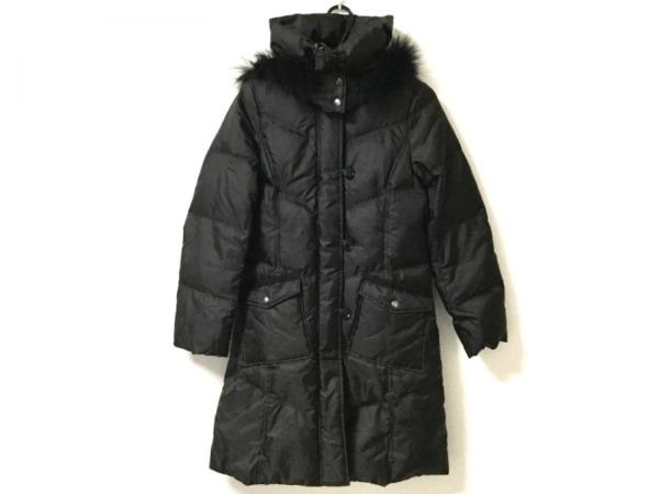 自由区/jiyuku(ジユウク) ダウンコート サイズ38 M レディース美品  黒 冬物