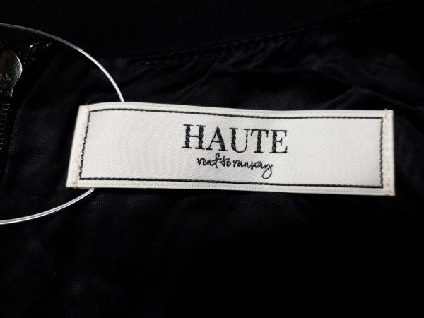 HAUTE(オート) ノースリーブカットソー サイズ38 M レディース美品  ダークネイビー