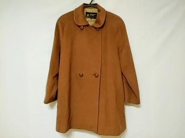 HARDY AMIES(ハーディエイミス) コート サイズ43 レディース美品  ブラウン 冬物