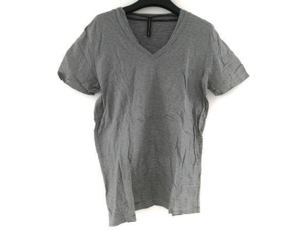 ブラックバレットバイニールバレット 半袖Tシャツ サイズ3 L メンズ美品  白×黒
