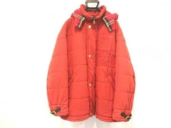 ICEBERG(アイスバーグ) ダウンジャケット サイズ54 L メンズ レッド 冬物