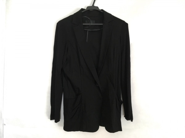 22OCTOBRE(ヴァンドゥ オクトーブル) ジャケット サイズ38 M レディース美品  黒 薄手