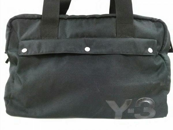 Y-3(ワイスリー) ボストンバッグ 黒 ナイロン