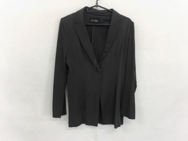 マダムジョコンダ ジャケット サイズ38 M レディース美品  ダークグレー 肩パッド