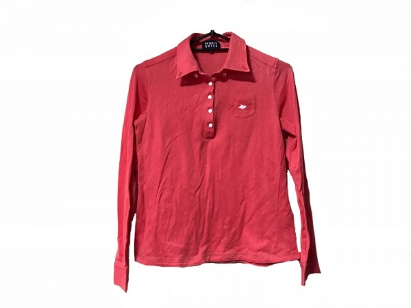 PEARLY GATES(パーリーゲイツ) 長袖ポロシャツ サイズ0 XS レディース美品  ピンク
