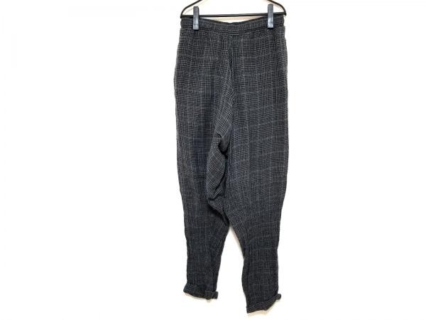 ベルンハルトウィルヘルム パンツ サイズS レディース 黒×グレー×グリーン