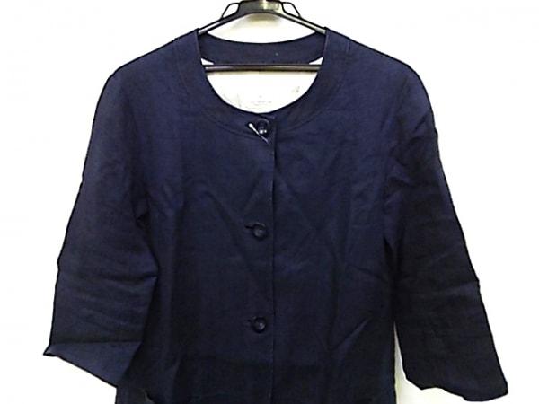 Unaca(アナカ) コート サイズ38 M レディース ネイビー 春・秋物