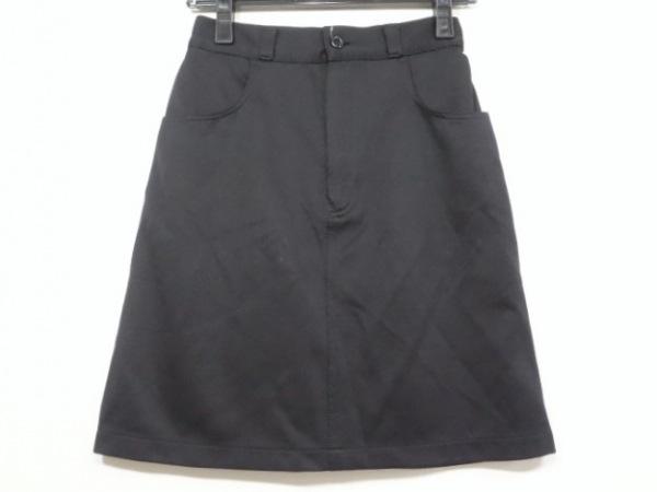 FENDI jeans(フェンディ) ミニスカート サイズ40 M レディース 黒 ニット