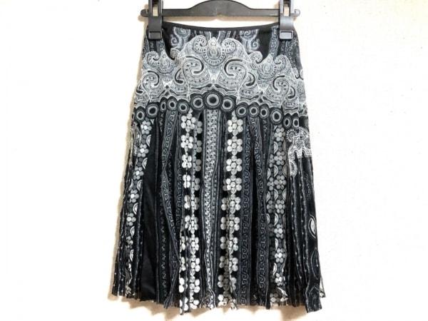 VIVIENNE TAM(ヴィヴィアンタム) スカート レディース美品  黒×白