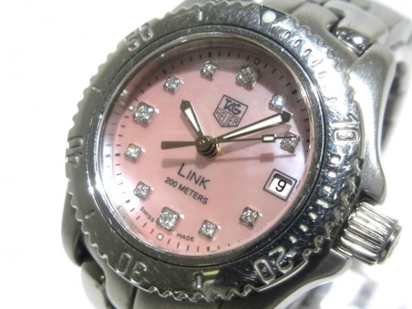 TAG Heuer(タグホイヤー) 腕時計美品  リンク WT141Q レディース ピンクシェル