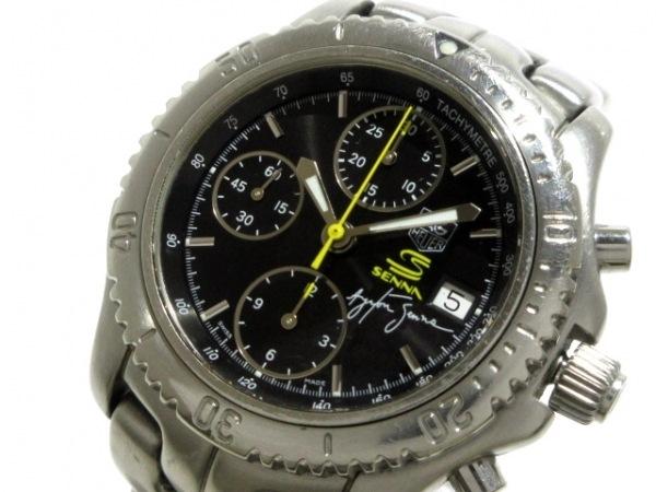 TAG Heuer(タグホイヤー) 腕時計 リンククロノ CT2115/CT2115.BA0550 メンズ 黒