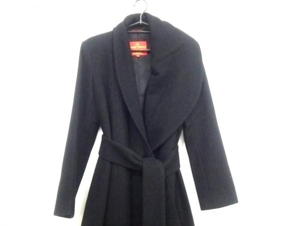 ヴィヴィアンウエストウッドレッドレーベル コート サイズ2 M レディース美品  黒