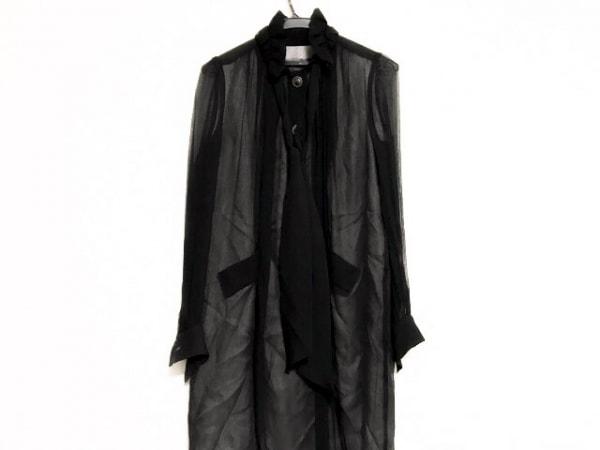 DESIGNWORKS(デザインワークス) ワンピース サイズ38 M レディース美品  黒 シルク