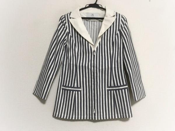 TAE ASHIDA(タエアシダ) ジャケット サイズ9 M レディース美品  ネイビー×白