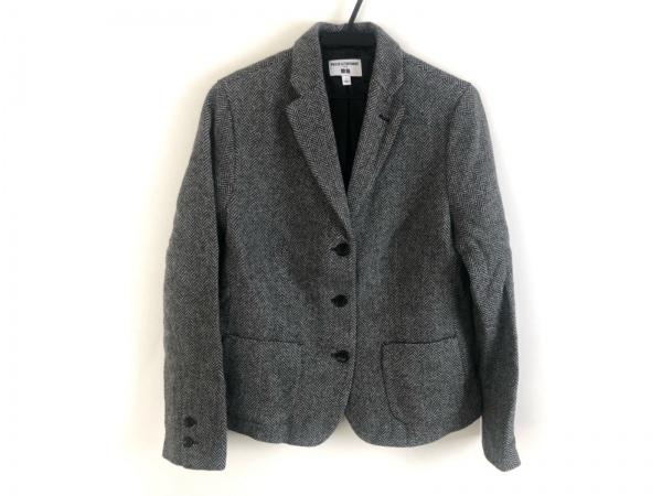 イネスドゥラフレサンジュ ジャケット サイズL レディース美品  黒×白×グレー