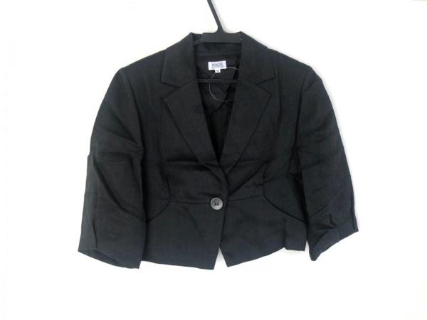 FOXEY(フォクシー) ジャケット サイズ40 M レディース美品  黒 肩パッド