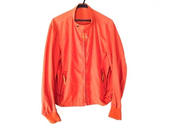 マックスフリッツ ブルゾン サイズ50 XL レディース オレンジ ジップアップ/春・秋物