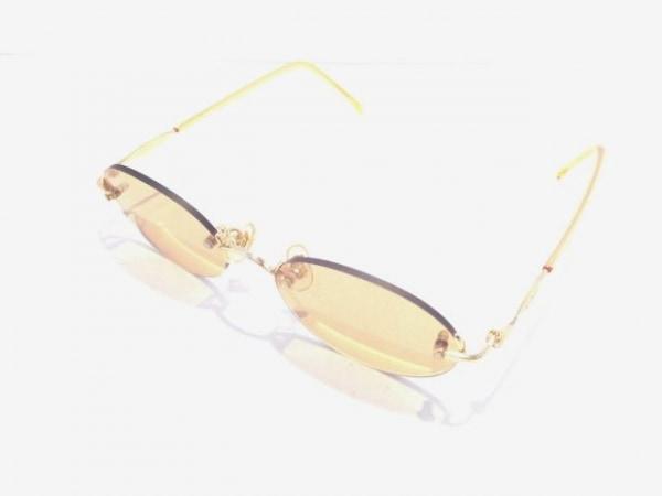 OLIVER(オリバーバレンチノ) サングラス美品  ライトブラウン×ゴールド