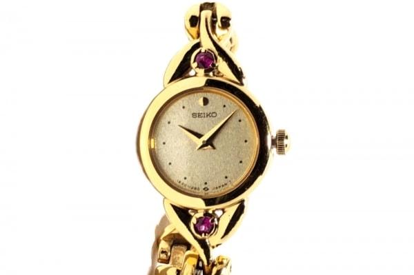 セイコー 腕時計 ティセ 1E20-0430 レディース ラインストーン 1