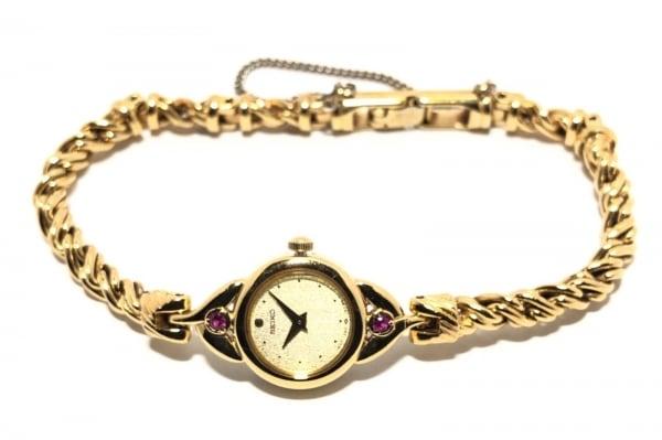 セイコー 腕時計 ティセ 1E20-0430 レディース ラインストーン 2