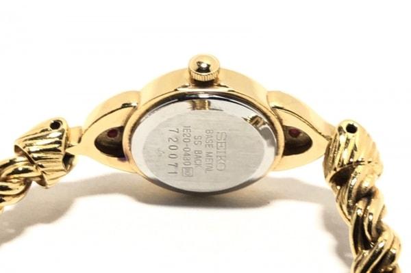 セイコー 腕時計 ティセ 1E20-0430 レディース ラインストーン 4