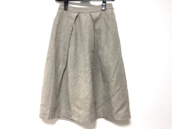 Shinzone(シンゾーン) スカート レディース美品  ベージュ