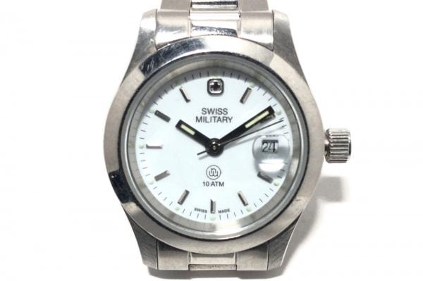 SWISS MILITARY(スイスミリタリー) 腕時計 6-723 レディース 白