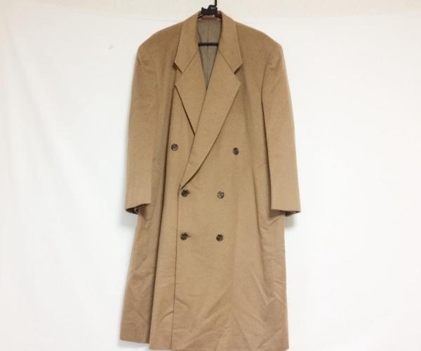 COLOMBO(コロンボ) コート サイズL メンズ ブラウン ネーム刺繍/冬物