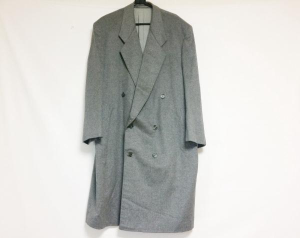 COLOMBO(コロンボ) コート サイズM メンズ グレー ネーム刺繍/冬物